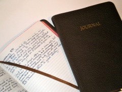 A view of the Allan pocket journal